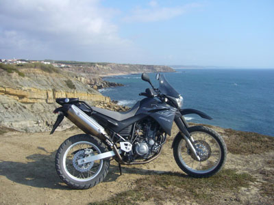 Yamaha XT660R Preta