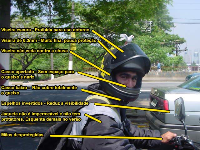 Como NÃO andar de moto
