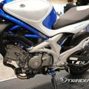 Motor da Suzuki Gladius 650