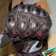 Luvas X11 Racer - Protetores dos dedos