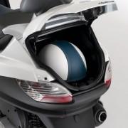 Porta capacete do Piaggio MP3 Hybrid