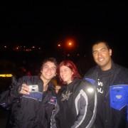 Douglas, Luana e Daniel