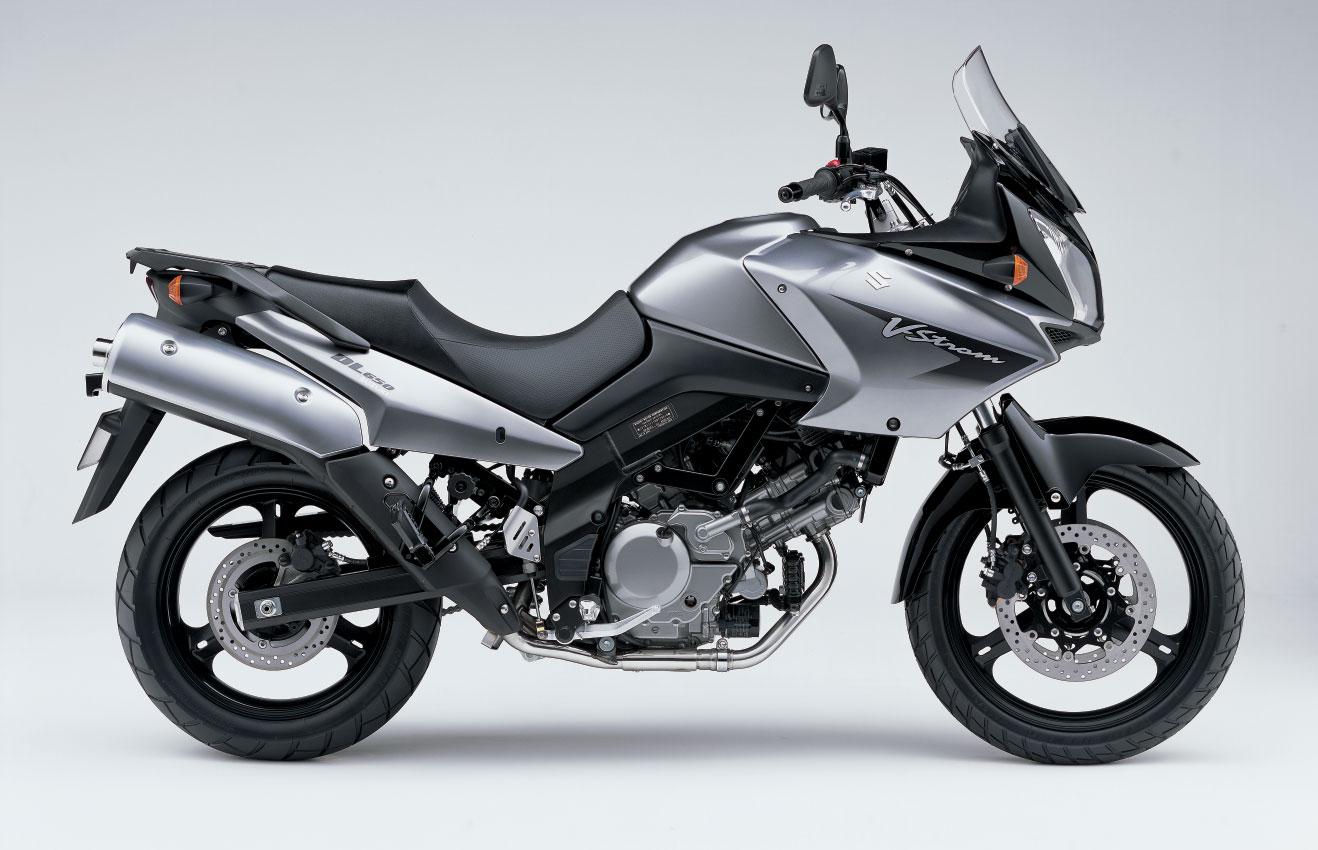 Suzuki DL650 V-Strom Prata