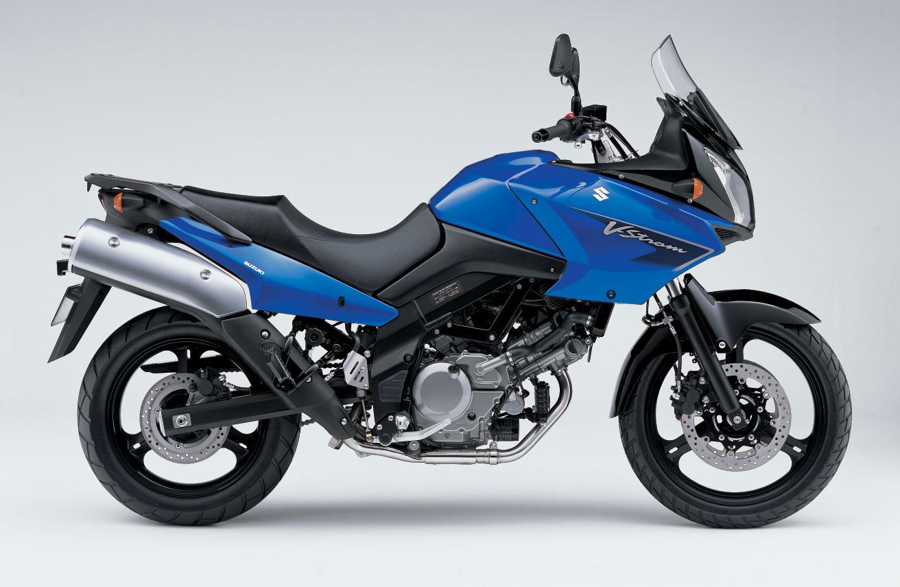 Suzuki DL650 V-Strom Azul