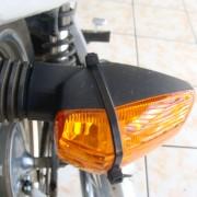 Pisca traseiro direito consertado