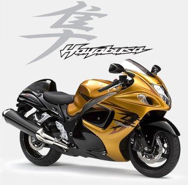 Suzuki Hayabusa 2011 Dourada