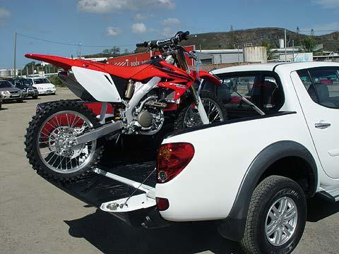 Moto em Pickup