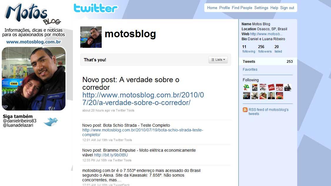 Twitter Motos Blog