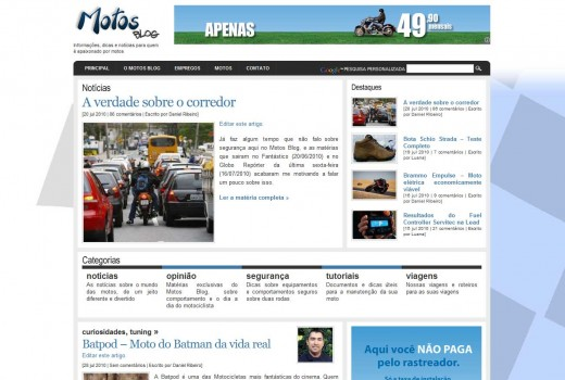 Motos Blog Atual