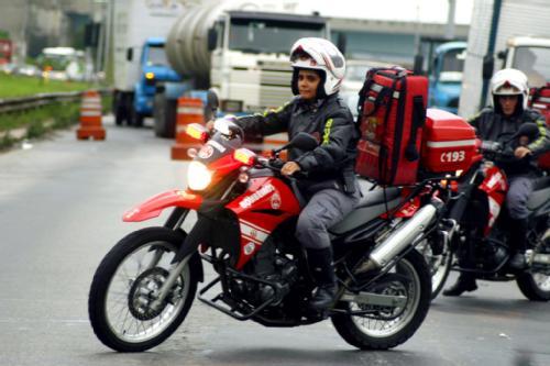 Yamaha XT660R dos Bombeiros
