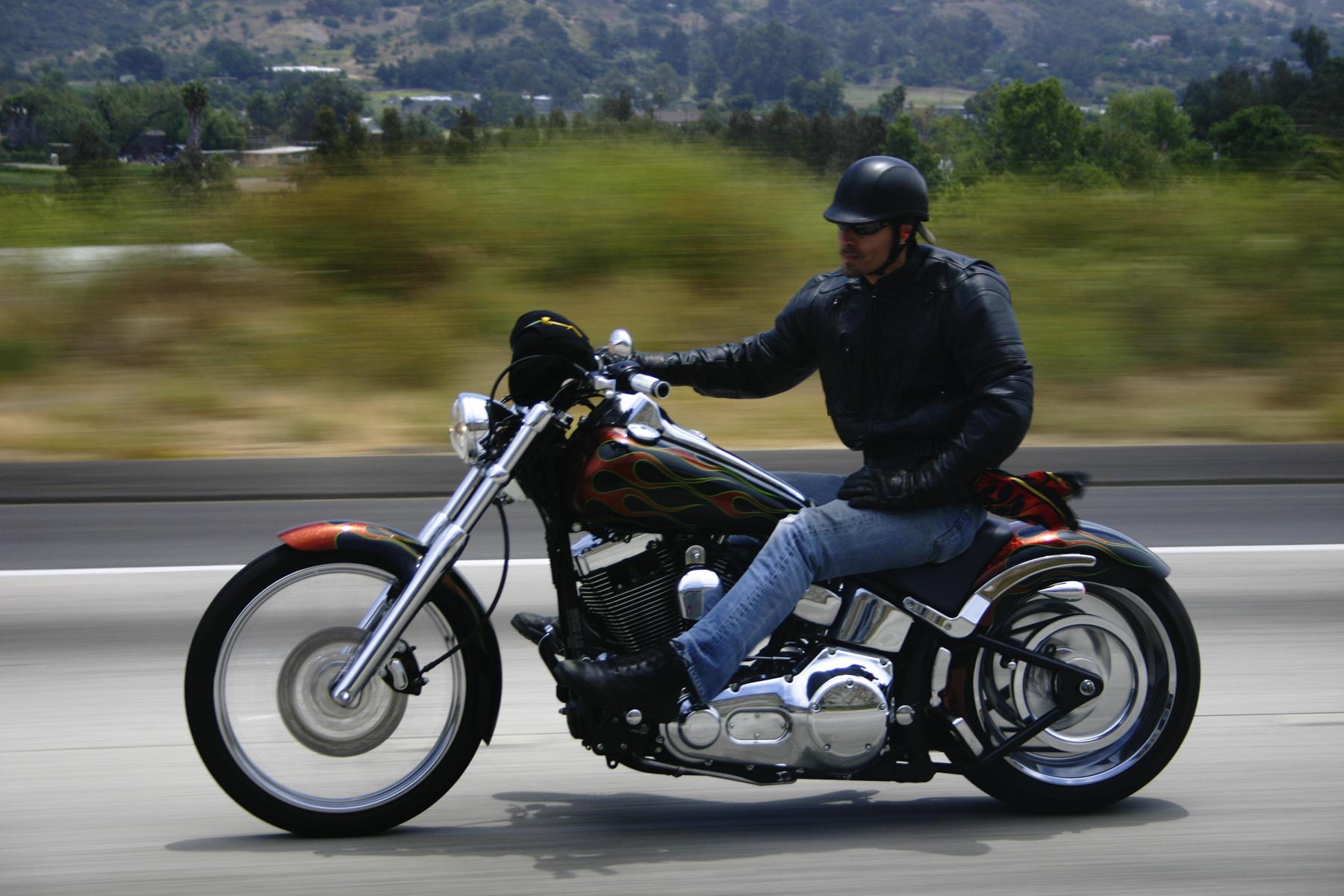 Motoqueiro clássico