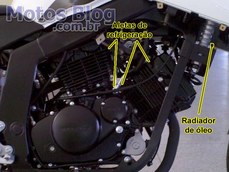 Motor Refrigerado a Óleo e Ar
