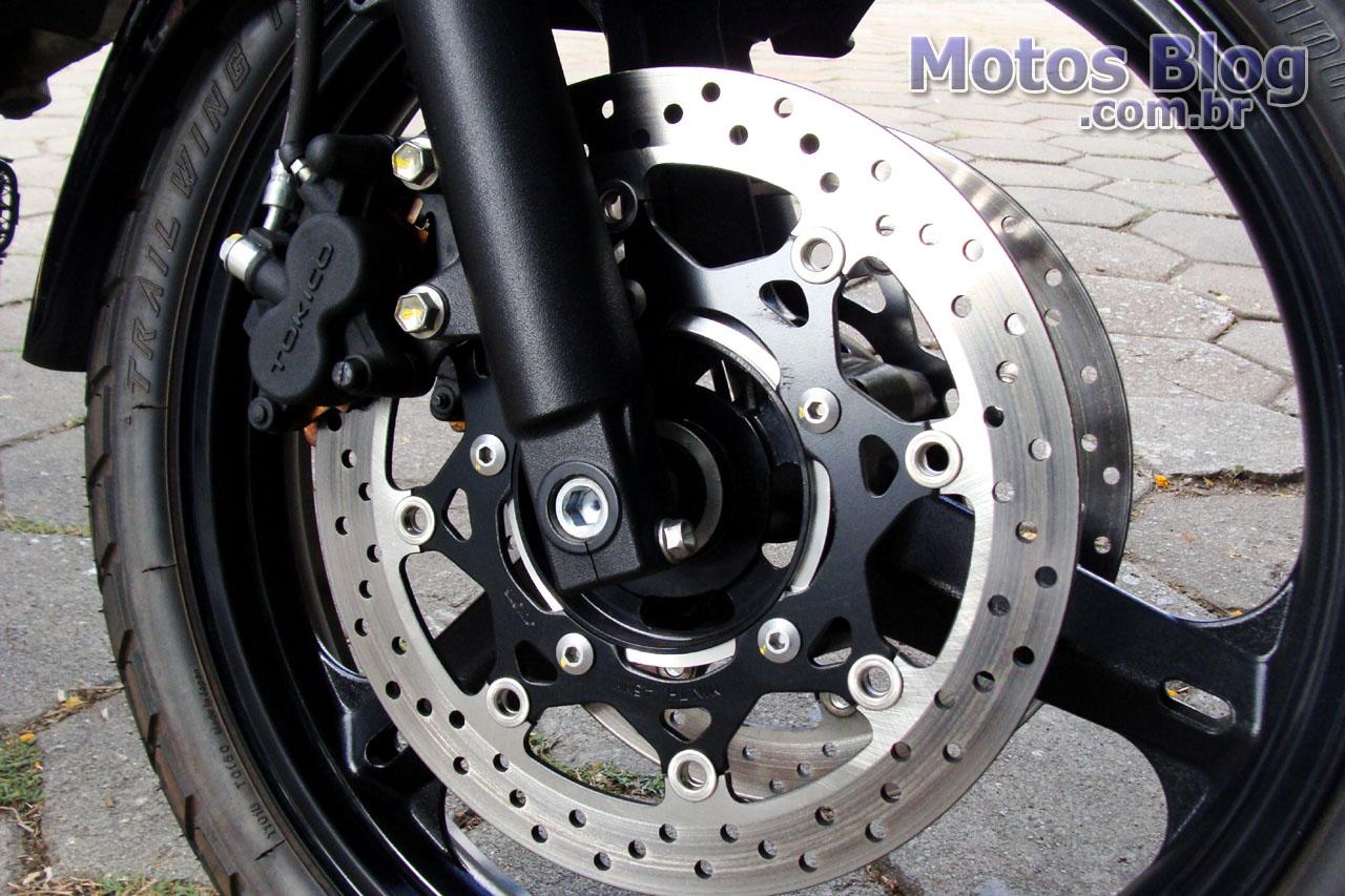 Discos de freio V-Strom
