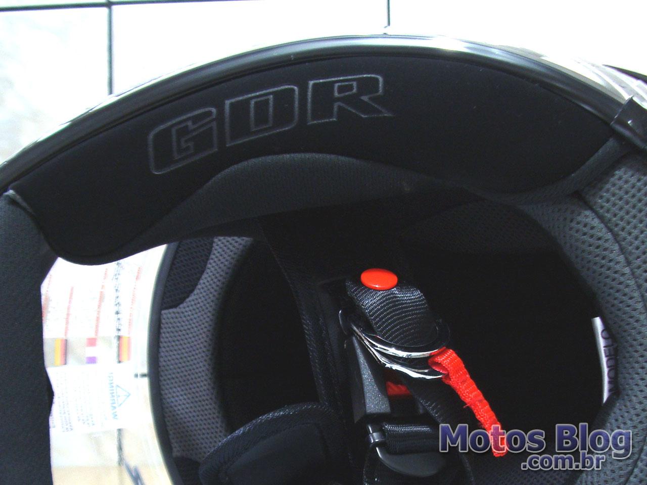 Bochecha do capacete