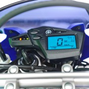 Painel da Yamaha XT660R 2012 Azul