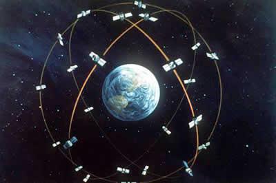 Constelação de satélites GPS