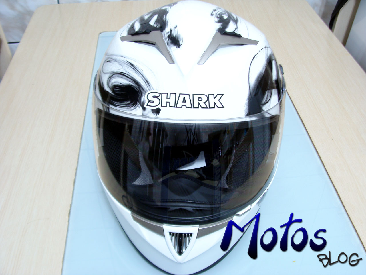 Entradas de ar do Shark S900