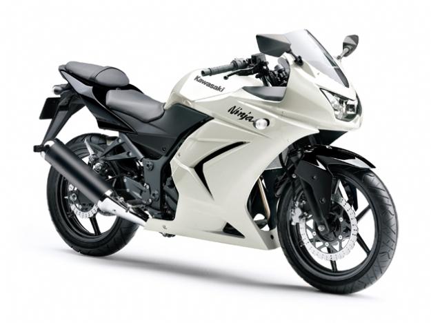 Ninja 250 2011 Branca