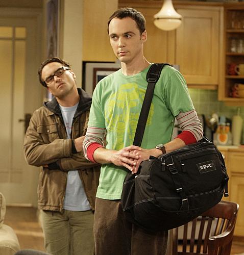 Mala de emergência do Sheldon