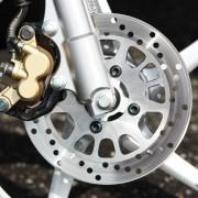 Freio dianteiro da Yamaha Neo 115 2011