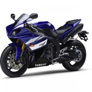 Yamaha YZF-R1 2012 Azul Esquerda