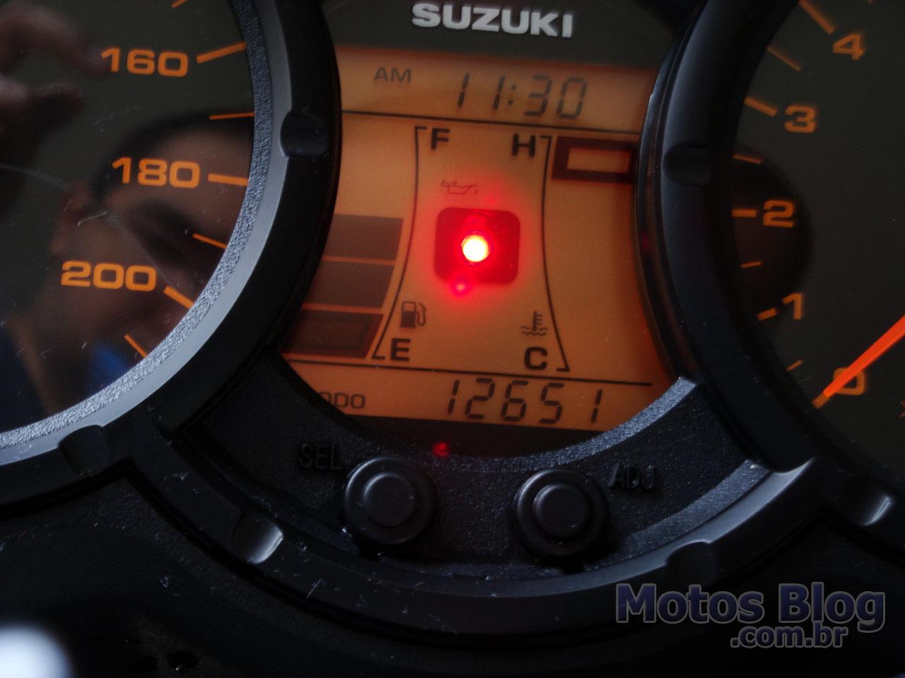 V-Strom com 12.651 km