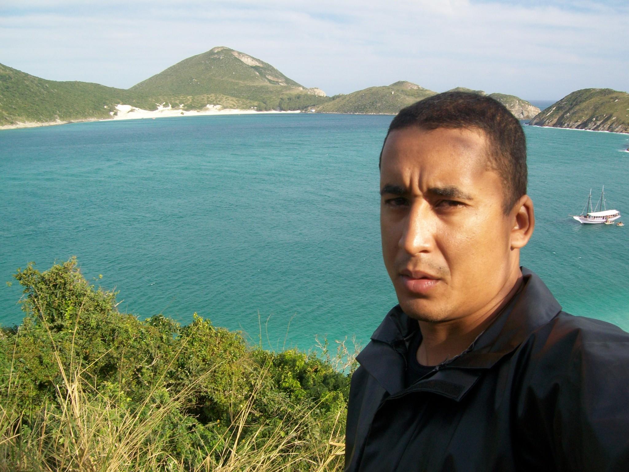 Marcelo Souza na Prainha - Arraial do Cabo/RJ