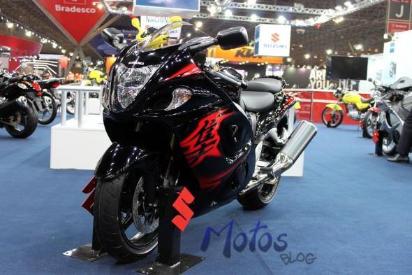 Suzuki Hayabusa 2012 Preta
