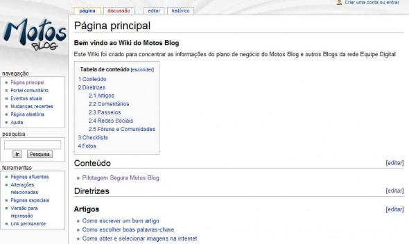 Wiki Motos Blog