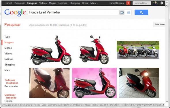 Google Imagens Lead Vermelha