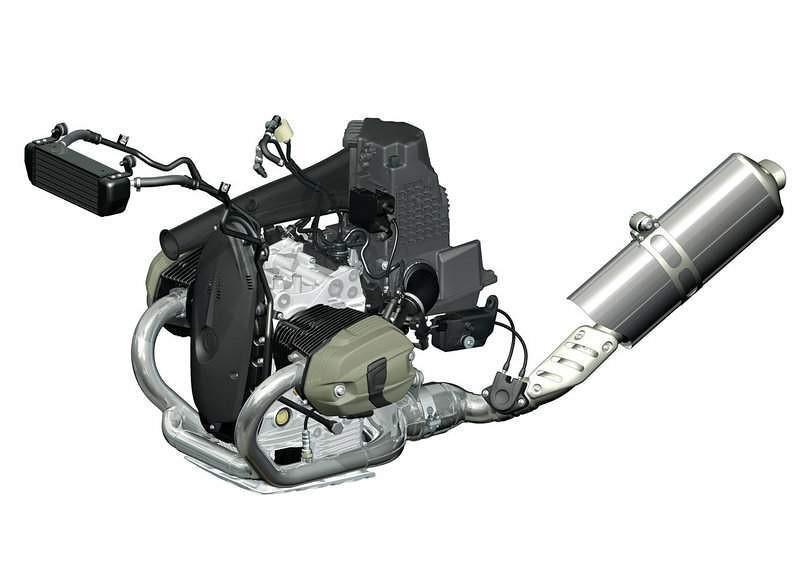 Motor BMW R1200GS