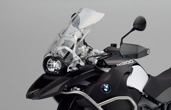 Parabrisa e Farois da BMW R1200GS