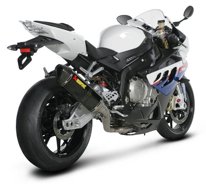S1000RR com ponteira esportiva