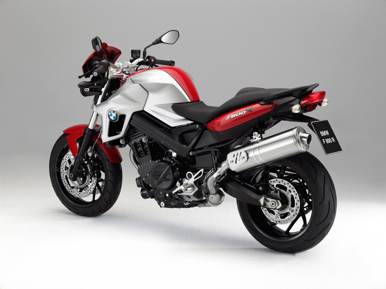 BMW F 800 R 2013 Magma Red