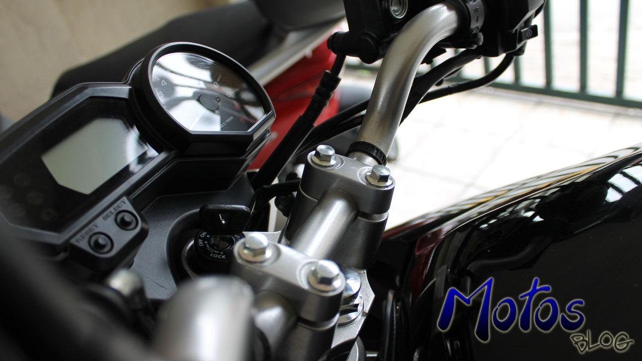 Guidão da Yamaha Fazer 250 Blueflex