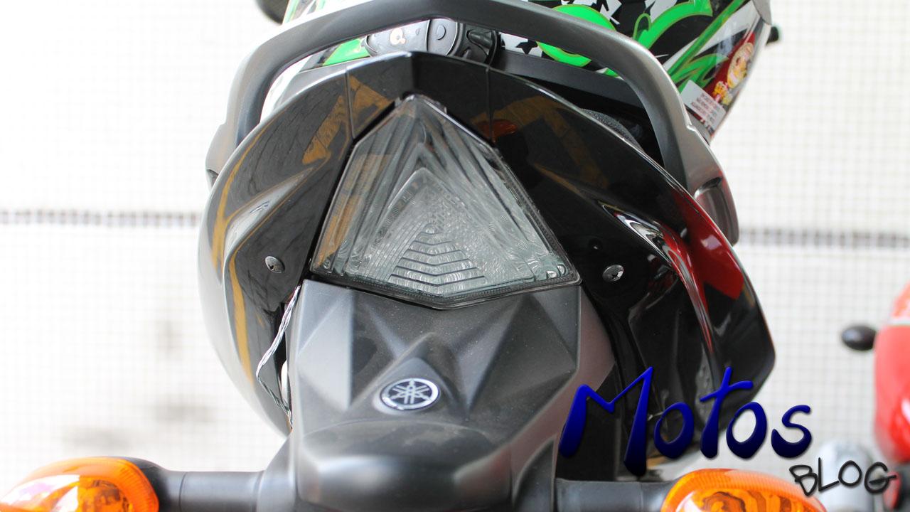 Lanterna traseira da Yamaha Fazer 250 Blueflex