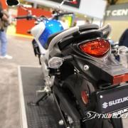 Traseira da Suzuki Gladius 650