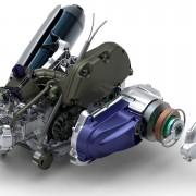 Motor do Piaggio MP3 Hybrid