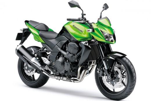Kawasaki Z 750 Verde