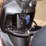 Porta-luvas da Honda Lead 110