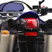 Yamaha XT 660 2010 Azul por trás
