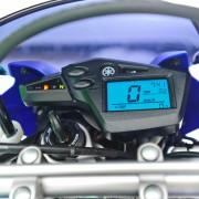 Painel da Yamaha XT 660 2010 Azul