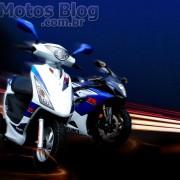 Suzuki Burgman 125ie 2011 Branco e Azul