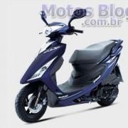 Suzuki Burgman 125ie 2011 Azul Escuro