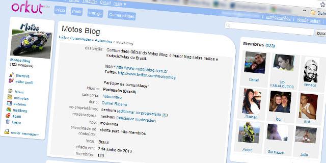 Comunidade Motos blog