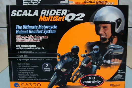 Caixa do Scala Rider Q2 Multiset