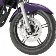 Roda dianteira da Yamaha YS250 Fazer 2012 Roxa