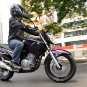 Yamaha YS250 Fazer 2012 Roxa