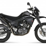 Yamaha XT660R 2012 Preta