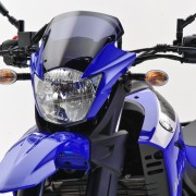Bolha e farol da Yamaha XT660R 2012 Azul